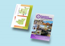 Experience Oxfordshire leaflet