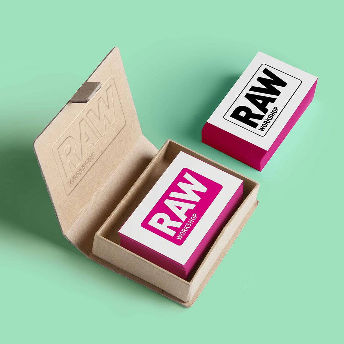 RAW Workshop business cards
