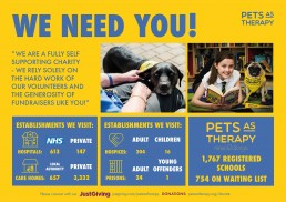 Pets As Therapy fundraising guide