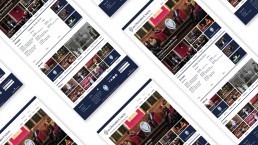 The Oxford Union: website screenshots