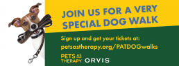 Pets As Therapy dog walks