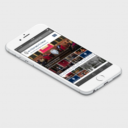 Oxford union iPhone mockup