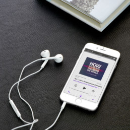 HRCW podcast displayed on iTunes