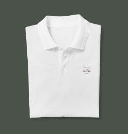 Porsche Club GB new badge shirt mockup