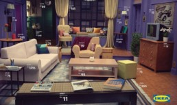 IKEA recreates Friends living room