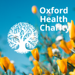 Oxford Health Charity: charity branding