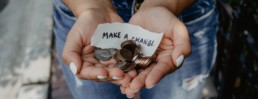 Make a change: charity branding